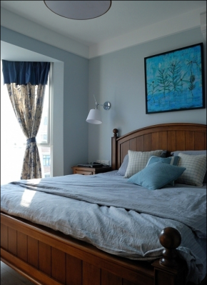 简约 田园 自然 温馨 舒适 收纳 空间利用 色彩搭配 小资 卧室图片来自成都生活家装饰在91㎡田园风格--小三居的分享