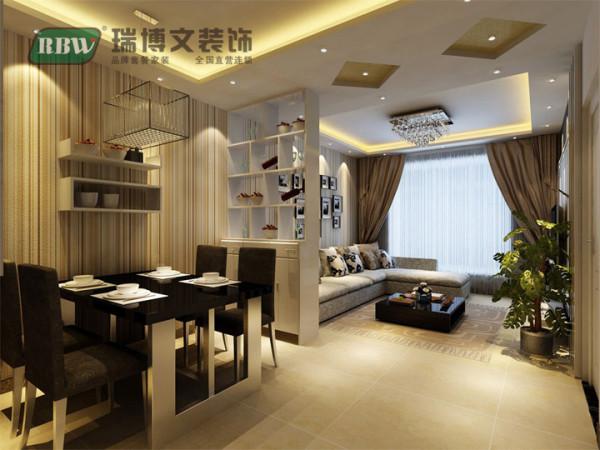就餐区采用暖色灯光,让人在享受美味饭菜的同时,更为感受到家的重要性。