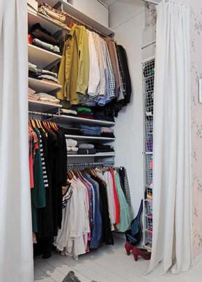 69平 一居 北欧 哥德堡 布艺家纺 旧房改造 小资 收纳 衣帽间图片来自居佳祥和装饰在69平哥德堡风格装修案例的分享