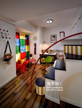 现代 二居 三居 复式 舒适 温馨 80后 小资 旧房改造 儿童房图片来自周楠在摩登·怀旧情怀 《瑞丽家居》12,6的分享