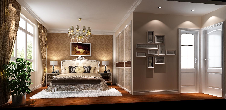 简约 欧式 三居 白领 80后 白富美 鲁能7号院 高度国际 时尚 卧室图片来自北京高度国际装饰设计在7万打造鲁能7号院简欧公寓的分享