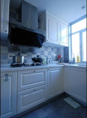 简约 田园 自然 温馨 舒适 收纳 空间利用 色彩搭配 小资 厨房图片来自成都生活家装饰在91㎡田园风格--小三居的分享