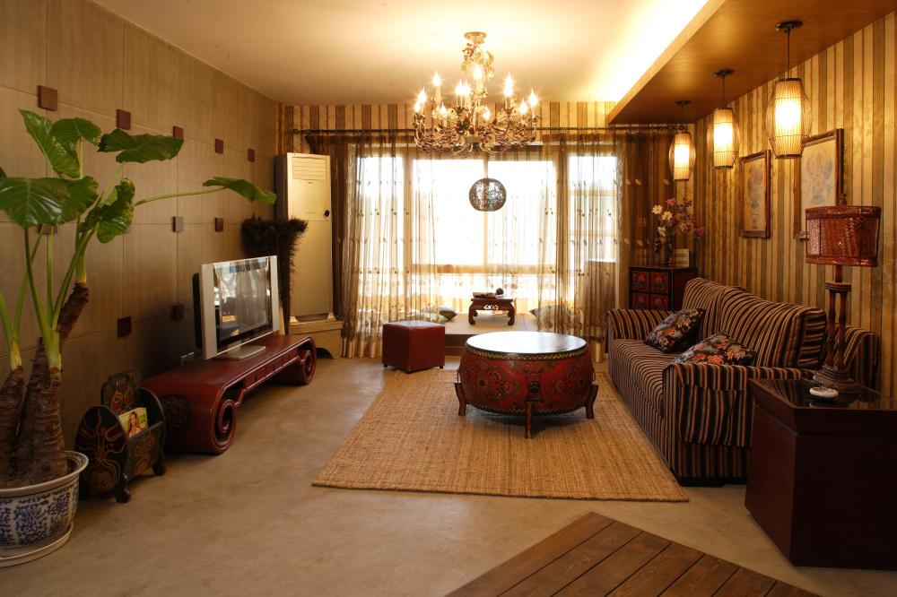 简约 混搭 地中海 别具一格 温馨 舒适 小资 韵味 白领 客厅图片来自成都生活家装饰在温馨地中海风格的三口之家的分享