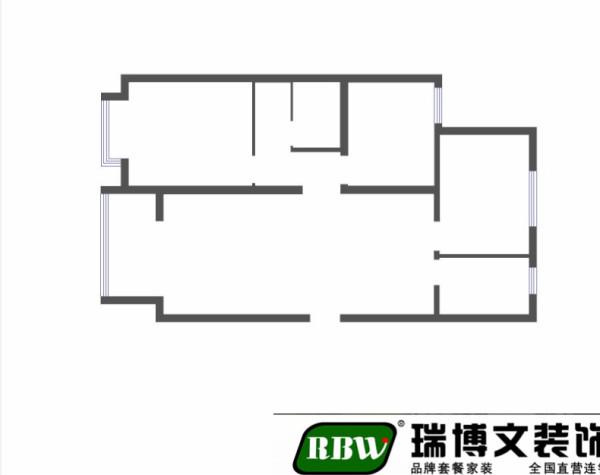 客厅通透宽敞,卧室分布合理,整个户型的采光效果非常好。