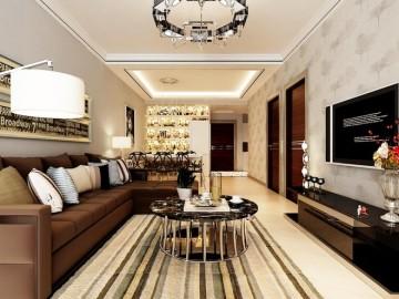 88平11万打造现代简约温馨的家