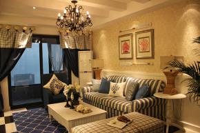 简约 地中海 温馨 舒适 别出心裁 收纳 空间感 小资 公主房 客厅图片来自成都生活家装饰在89㎡清新地中海的分享