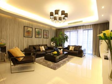 誉品谷水湾123平现代风格设计