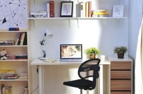 82平 二居 宜家 简约 收纳 小资 书房图片来自居佳祥和装饰在82平宜家风格装修案例的分享