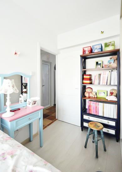 78平 二居 地中海 布艺家纺 旧房改造 小资 收纳 儿童房图片来自居佳祥和装饰在78平地中海风格装修案例的分享
