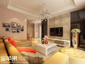 西山银杏-现代简约-二居室