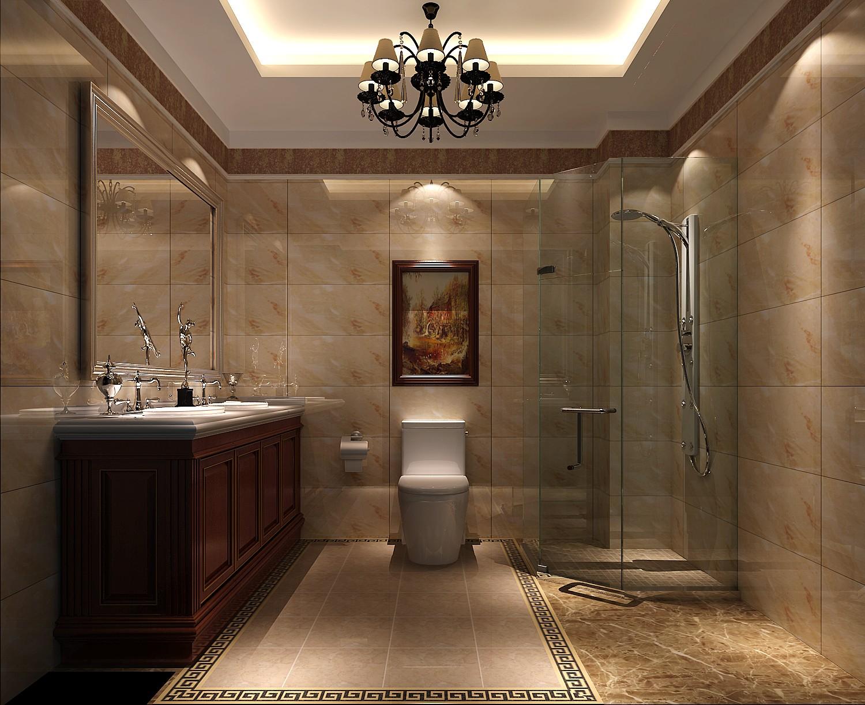 简约 新中式 高度国际 时尚 三居 白领 80后 四合上院 白富美 卫生间图片来自北京高度国际装饰设计在四合上院新中式公寓的分享
