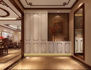 简约 新中式 高度国际 时尚 三居 白领 80后 四合上院 白富美 玄关图片来自北京高度国际装饰设计在四合上院新中式公寓的分享