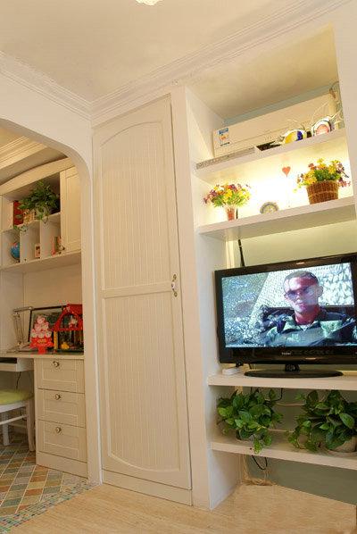 田园 旧房改造 白领 海淀区知春 一居 客厅图片来自今朝装饰老房装修通王在45平米优雅蜗居的分享