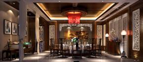 简约 新中式 高度国际 时尚 白富美 四合院 别墅 白领 80后 餐厅图片来自北京高度国际装饰设计在新中式私人四合院的分享