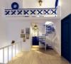 水榭山-地中海风格-楼梯效果图