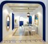 水榭山-地中海风格-餐厅效果图