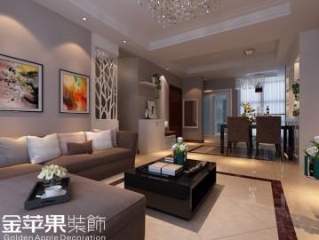西山银杏97㎡-现代简约-三居室