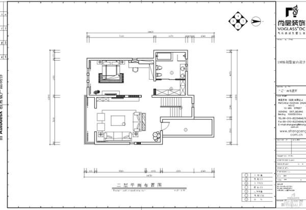 二层合理划分别墅空间,增加了较多的功能规划。为了满足业主生活需求,设计师在进行别墅空间设计时,将二楼设置成业主的卧房,家庭室、卧室为业主带来充分的休息空间。