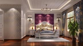 简约 欧式 别墅 白领 80后 白富美 时尚 高度国际 鲁能7号院 卧室图片来自北京高度国际装饰设计在简欧鲁能花园洋房的分享
