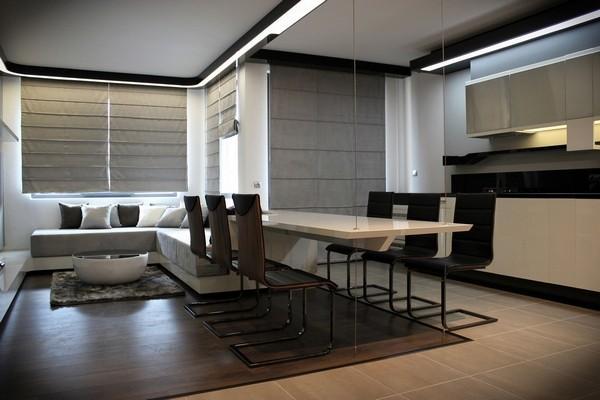 现代 三居 别墅 白领 收纳 旧房改造 80后 小资 餐厅图片来自周楠在超炫电视墙装饰的分享