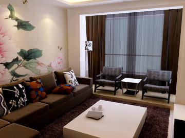 97平二居室现代简约风格设计