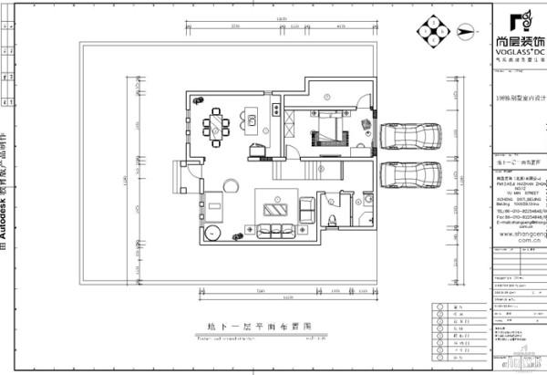 在这套别墅装修案例中,地下一层充当了别墅一层的作用,客厅、餐厅以及客卧都位于这个空间,推开门窗,蔓延的植株映入眼帘。与亲朋好友漫步其中,欣赏鸟语花香,提升了一份韵味。