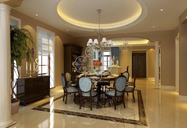 注重装饰效果,用室内陈设品来增强历史文脉特色,往往会照搬古代设施、家具及陈设品来烘托室内环境气氛。