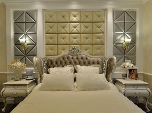 高贵时尚的卧室