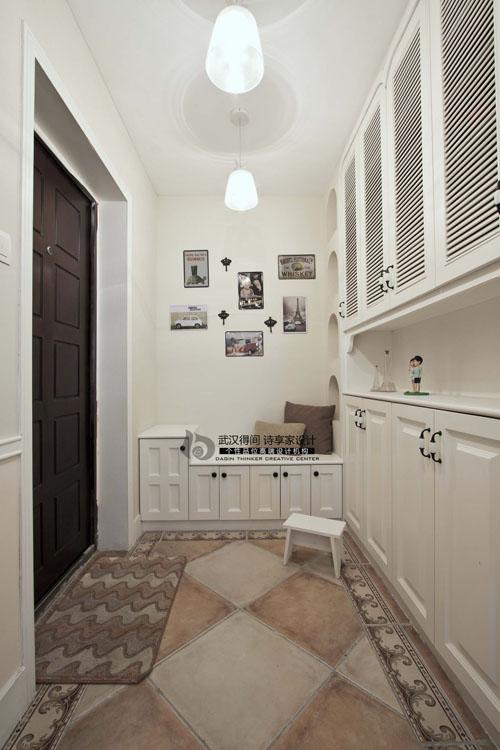 混搭 三居 白领 玄关图片来自得间诗享家设计在巴黎草叶的分享