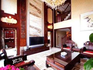 中式别墅武汉著名设计师陈洁作品