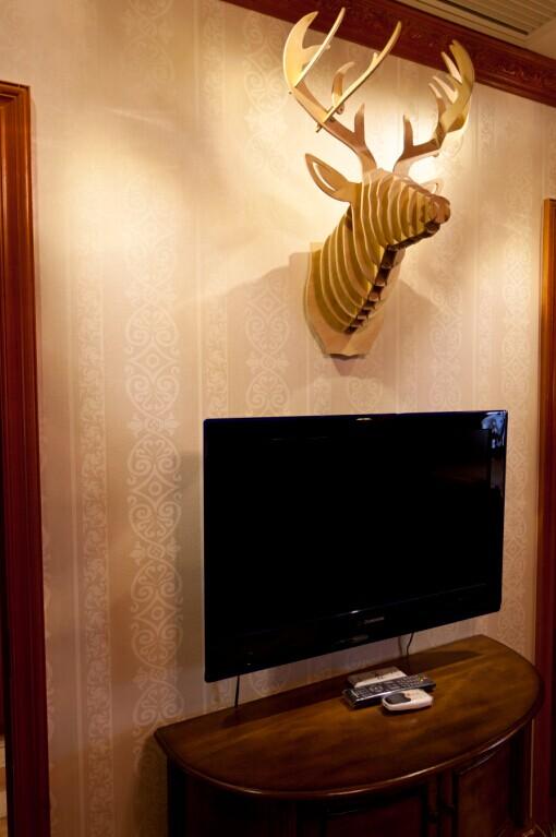 别墅 白领 小资 80后 混搭 书房图片来自东三吉在欧华汇 央视2套交换空间专访的分享