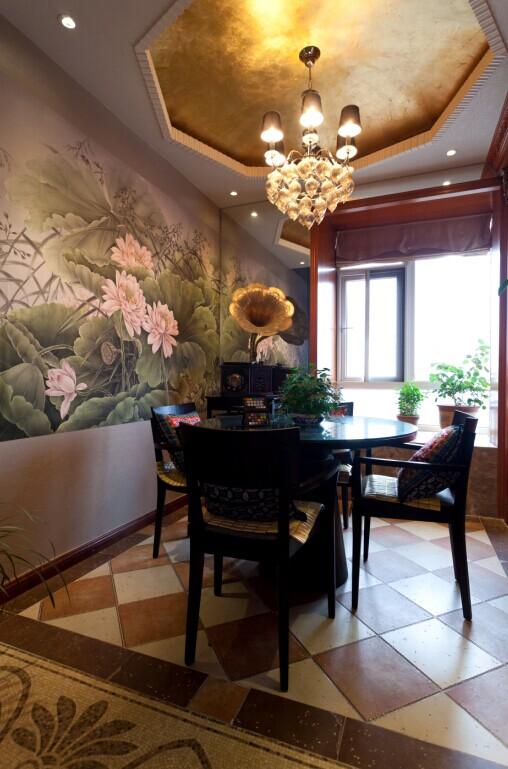 别墅 白领 小资 80后 混搭 餐厅图片来自东三吉在欧华汇 央视2套交换空间专访的分享