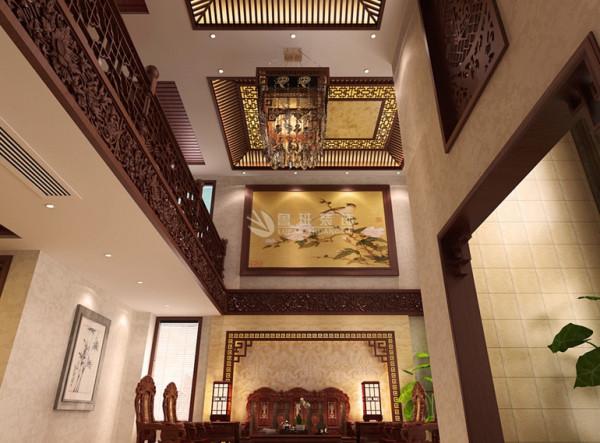 中式风格是以宫廷建筑为代表的中国古典建筑的室内装饰设计艺术风格,气势恢弘、壮丽华贵、高空间、大进深