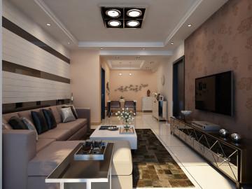 87平两居室现代简约风格