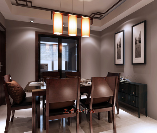优雅独特,简洁质朴的中式餐厅