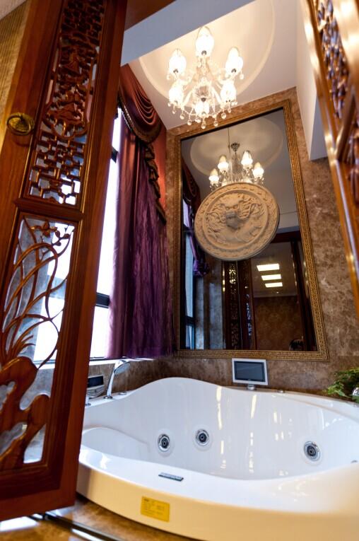 别墅 白领 小资 80后 混搭 卫生间图片来自东三吉在欧华汇 央视2套交换空间专访的分享