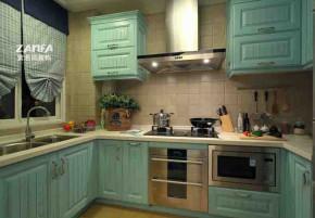 宜家 地中海 舒适 简约 厨房图片来自紫名居装饰在旭日爱上城90平的分享