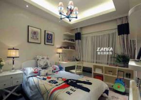 宜家 地中海 舒适 简约 儿童房图片来自紫名居装饰在旭日爱上城90平的分享