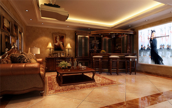 图片四一层客厅清新,典雅和大气并存的客厅设计理念:客厅可以说是在家装里面非常受到重视的部分,因为它面积最大、公用程度最高、最能凸显一个家庭的审美品味及个性特征。