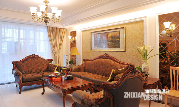 空间采用典雅白色调,配合细腻高贵的木质家具,呈现出耐人寻味的时光味道。几何面茶镜式墙体运用装置将空间有效的美化,一种静谧悠远的感觉,已经分不清是空间在流动,还是时间在诉说。