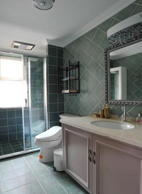 简约 美式 三居 温馨 轻快 舒适 卫生间图片来自成都生活家装饰在简约雅致美式的分享