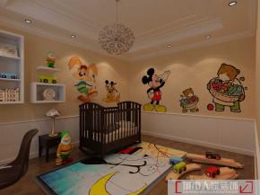 别墅 80后 小资 白领 中式 儿童房图片来自天津行云创意装饰设计有限公司在红磡领世郡的分享