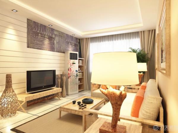 本案为海河大观标准层2室2厅1卫一厨73.4㎡,设计风格定义为现代风格。整体色调较为温馨,具备视觉体验感,墙面以肉黄色的乳胶漆与爵士白大理石搭配,展现温馨时尚,用浅色木家具铺设空间,宁静温婉混合,融于一体。