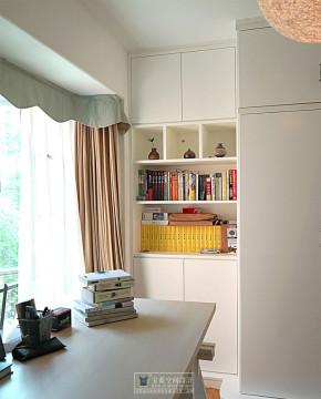 宝蓝装饰 琴台墨园 小清新 现代简约 80后 小资 书房图片来自众意装饰在香榭琴台墨园——现代清新风的分享