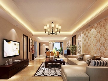 金色漫香苑186平米五居室