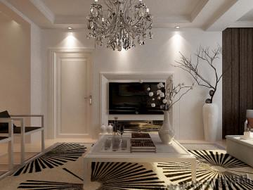 百家装饰-地质家属楼现代风格