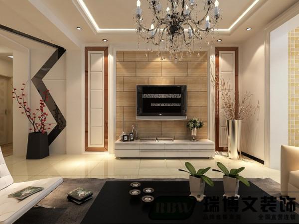 在整个造型设计上注意空间的对称与协调,利用造型完美的表现空间、区分空间。