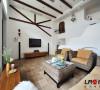 客厅装饰细节,白色主调的色彩搭配,整体感觉宜人舒适,小清新味道的居家风味!