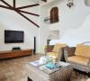 客厅不同视觉效果,每一个面都有其独特的风格美!