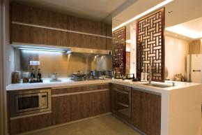 中式 底蕴 温文尔雅 温馨 舒适 厨房图片来自成都生活家装饰在144平书香门第3居室的分享